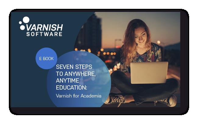 Varnish for academia e-book cover