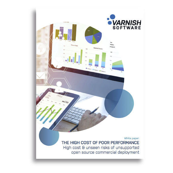 Varnish Software  – High Cost of Poor Performance cover