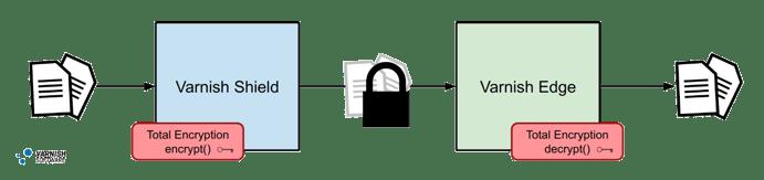 Total Encryption CDN 2 Tier