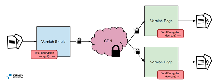 Total Encryption CDN