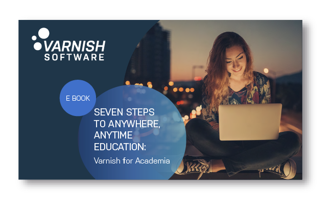 Varnish for academia e-book cover