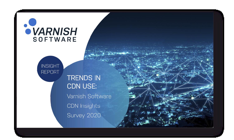 Trends in CDN use - CDN insights survey 2020 cover3x