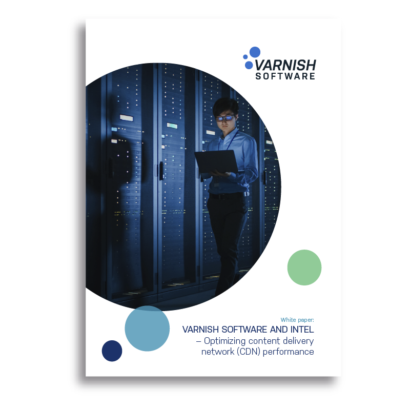 Varnish Software and Intel – Optimizing content delivery network (CDN) performance cover-1